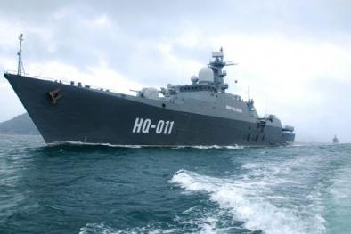 Uy lực bí ẩn chiến hạm Đinh Tiên Hoàng của Hải quân Việt Nam