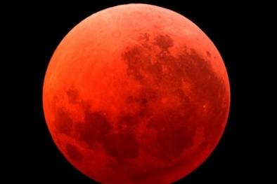 Thực hư Mặt Trăng máu tháng 9/2015 gắn với ngày thế giới diệt vong