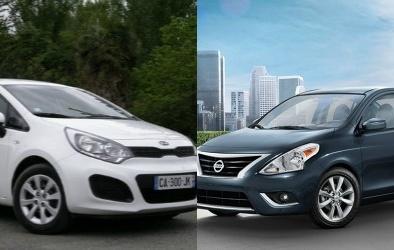 Kia Rio và Nissan Versa: Xe nhỏ đầy sức hút
