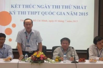 Ngày thi đầu tiên thi THPT quốc gia: 31 thí sinh bị đình chỉ do vi phạm quy chế