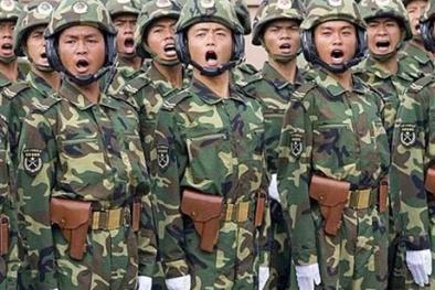 'Quân đội Trung Quốc chỉ là một con rồng giấy'