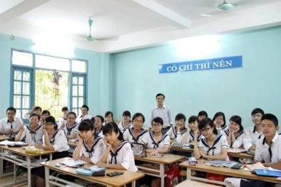 Cấm tổ chức thi để xếp lớp chuyên đầu cấp