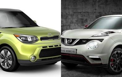 Nissan Juke đọ 'cá tính' cùng hatchback cỡ nhỏ Kia Soul