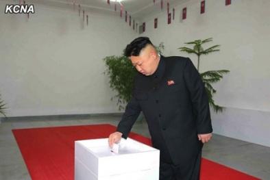 Triều Tiên: Ông Kim - Jong Un đích thân đi bỏ phiếu, ca ngợi các ứng viên tranh cử