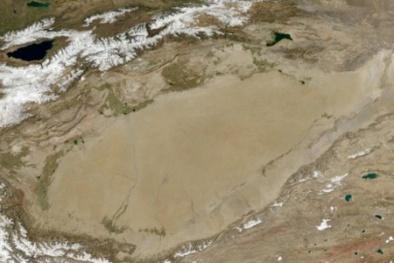 Phát hiện đại dương khổng lồ dưới lòng sa mạc khô hạn nhất thế giới