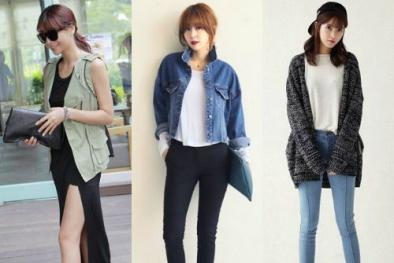 3 kiểu áo khoác lên ngôi mùa thu 2015