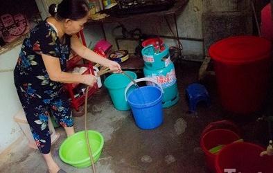 Người dân Thủ đô lại khốn khổ vì mất nước sinh hoạt