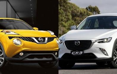 Mazda CX-3 và Nissan Juke: Làn gió mới cho phân khúc crossover