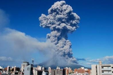 Nhật Bản: núi lửa phun trào đe doạ mạng sống 600.000 người