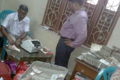Kỹ sư Ấn Độ giấu 31 triệu USD trong nhà