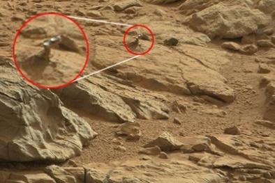 Lại phát hiện động vật lạ trên Sao Hỏa