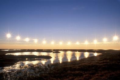 Chiêm ngưỡng Mặt Trời lúc nửa đêm tuyệt đẹp