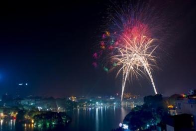 Những địa điểm đẹp xem pháo hoa ở Hà Nội, TP. HCM