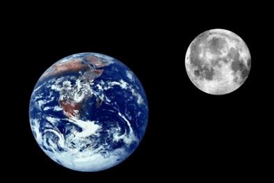 Mặt Trăng đang bị nứt và teo nhỏ đi?