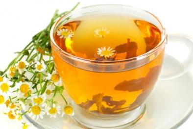 Trà hoa cúc mật ong xua tan căng thẳng