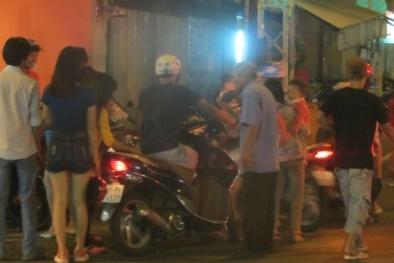Giá vé giữ xe 'cắt cổ' tại phố lồng đèn ở Sài Gòn