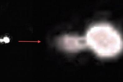 UFO bí ẩn không rõ nguồn gốc xuất hiện trong đêm