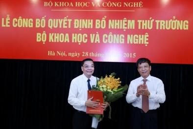 Công bố quyết định bổ nhiệm ông Chu Ngọc Anh là Thứ trưởng Bộ KH&CN