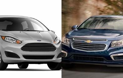 Xe compact Chevrolet Cruze và Ford Fiesta khuấy động thị trường