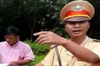 'Thư ký' của CSGT Đồng Nai đã đấm dập môi người vi phạm
