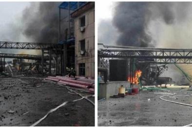 Trung Quốc: 7 người thương vong trong vụ nổ nhà máy hóa chất mới nhất