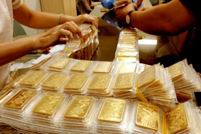 Cập nhật giá vàng trong nước 15/10/2015: Giá vàng SJC lại tăng mạnh