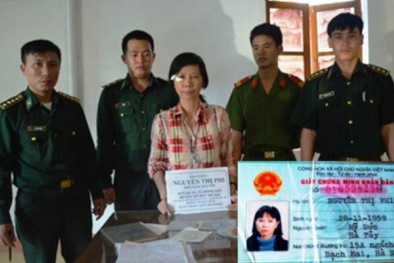Một phụ nữ ở Hà Nội bị bắt giữ khi mang theo nhiều tài liệu phản động