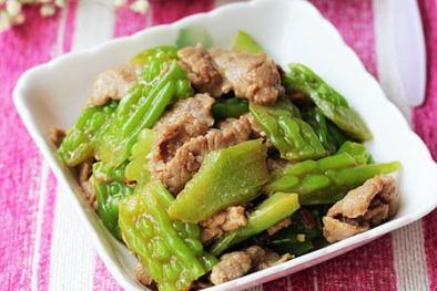 Cách làm mướp đắng xào thịt bò cực ngon và bổ dưỡng