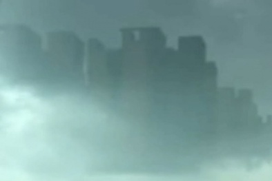 Trung Quốc: Thành phố trên mây lại bất ngờ xuất hiện gây xôn xao
