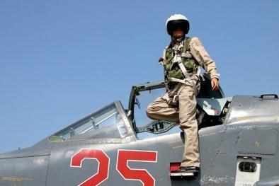 Xem bộ dụng cụ sinh tồn của phi công Nga tại Syria