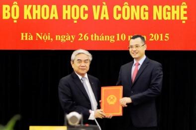 Bộ trưởng Bộ KH&CN trao quyết định bổ nhiệm Thứ trưởng mới