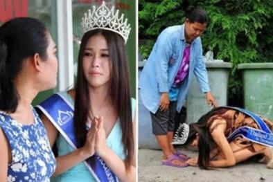 Hoa hậu 'nhặc rác' ân hận vì dối trá sẽ không bị tước vương miện