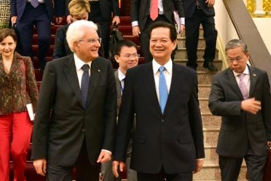 Tổng thống Italia đánh giá cao hành động và lập trường của Việt Nam về Biển Đông