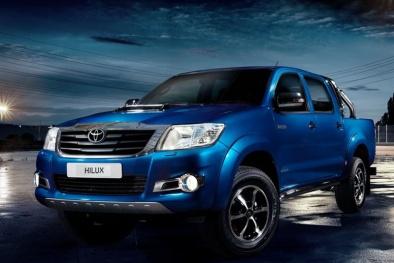 Xe bán tải gia đình Toyota Hilux và Chevrolet Colorado so tài cao thấp