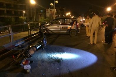 Lái xe taxi nhảy cầu tự vẫn ngay sau tai nạn