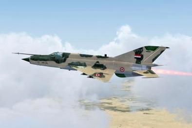 'Lão thành AK bay' MiG-21 của Syria vẫn đều đặn không kích IS