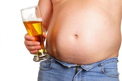 Đàn ông có bụng bia dễ tử vong hơn người béo phì