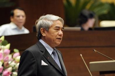 Bộ trưởng Nguyễn Quân trả lời Đại biểu Quốc hội những bất cập liên quan đến KH&CN