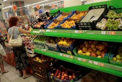 Tin tức mới nhất về Ukraine ngày 19/11: Nga cấm nhập khẩu thực phẩm của Ukraine từ 2016