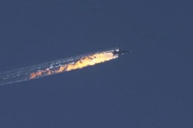 Những hình ảnh mới nhất từ hiện trường vụ máy bay Nga bị Thổ Nhĩ Kỳ bắn hạ