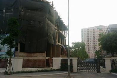 Handico 7 xây dựng trái phép: PCT quận Thanh Xuân cố tình 'lờ' sai phạm?