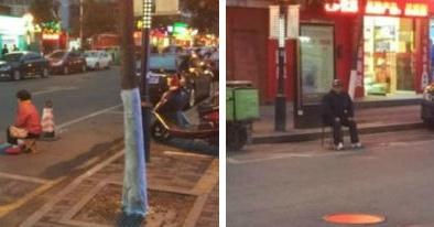 Con trai bất hiếu bắt bố mẹ già ngồi giữ chỗ đỗ xe trong đêm lạnh