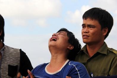 Đứt từng khúc ruột đón thi thể ngư dân Trương Văn Bảy về đất liền