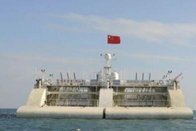 Trung Quốc âm mưu đưa trạm phát điện khổng lồ ra Biển Đông