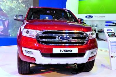 Ford Everest 2015 thiết kế hoàn toàn mới sắp ra mắt thị trường Việt