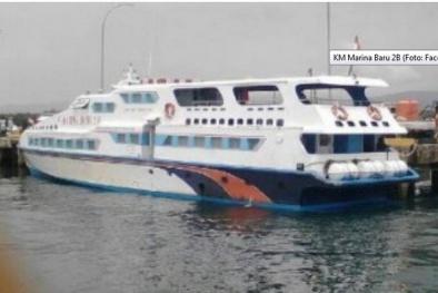 Đắm tàu ở Indonesia: Cứu được 39 người trong số hơn 100 hành khách