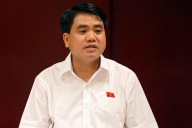 Chủ tịch Hà Nội Nguyễn Đức Chung đề xuất hạn chế phương tiện cá nhân