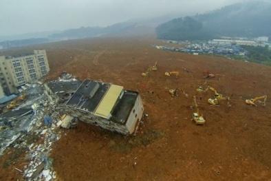 Trung Quốc tạm giữ 12 người để điều tra vụ lở đất kinh hoàng
