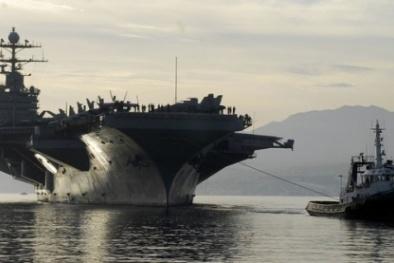 Iran phủ nhận bắn tên lửa gần tàu sân bay Mỹ