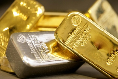 Giá vàng đầu năm 2016 tăng nhẹ sau chuỗi ngày 'đen tối'
